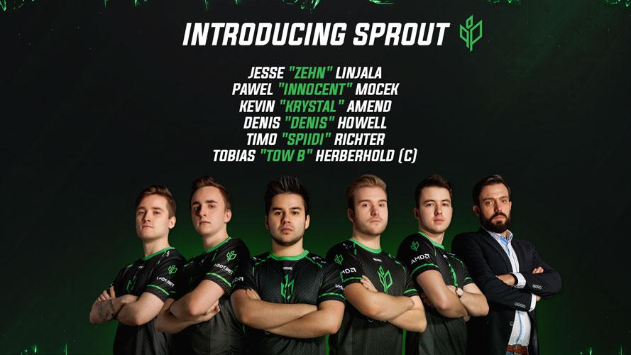 Das neue Team Sprout