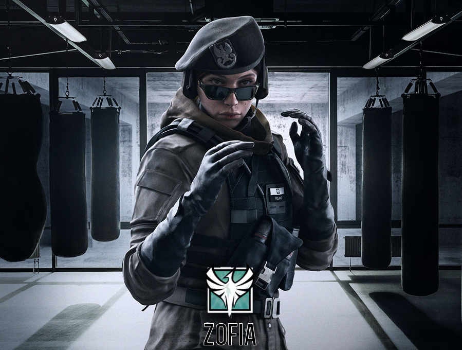 Neuer Angriffs Operator in der Operation White Noise: Zofia (GROM)